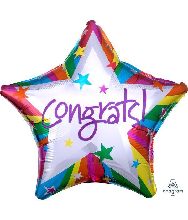 Balloon ''Congratulations''