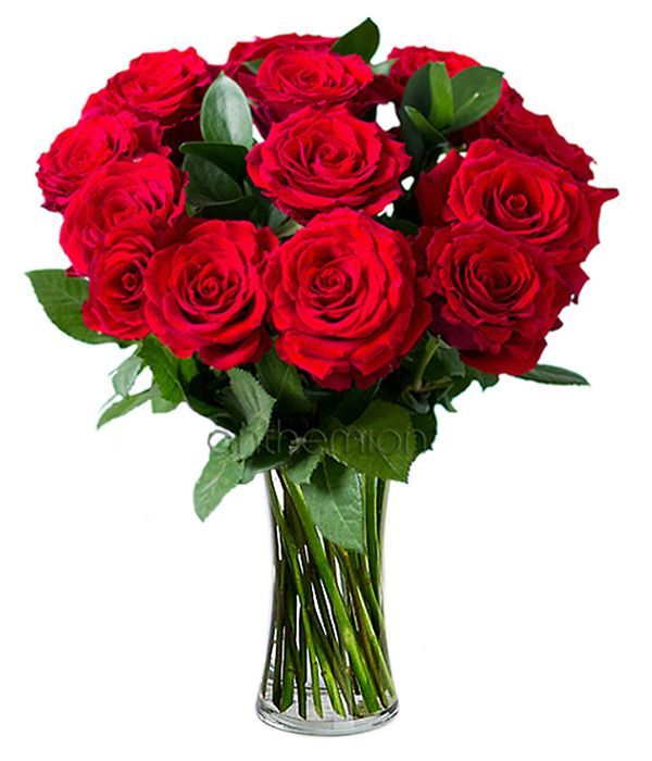 Bouquet with 13 roses