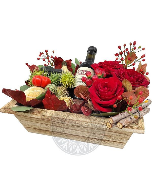 Ξεχωριστή Έκπληξη με κόκκινα τριαντάφυλλα