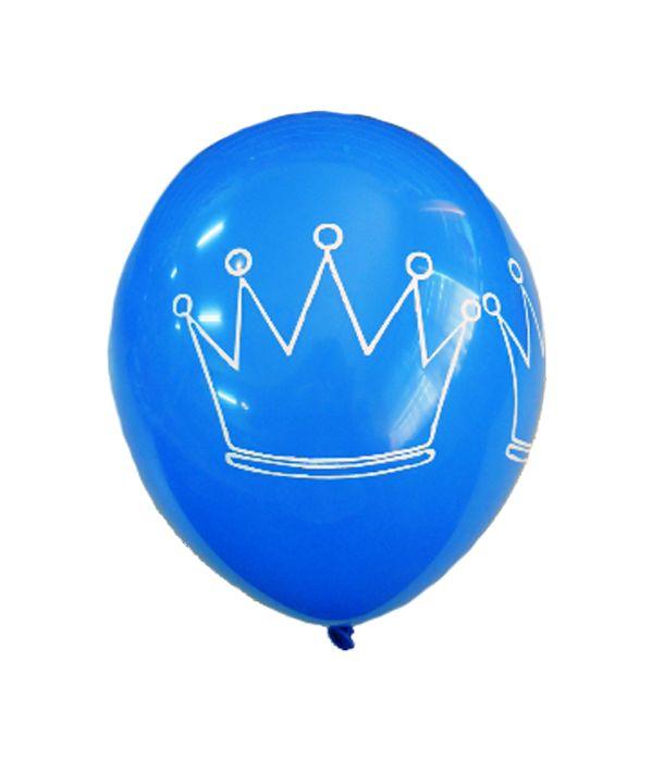 ''Princely crown'' balloon 30cm.