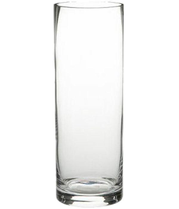 Κυλινδρικό γυάλινο βάζο