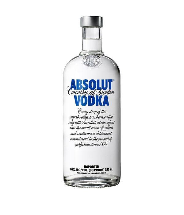 Vodka Absolute 750 ml
