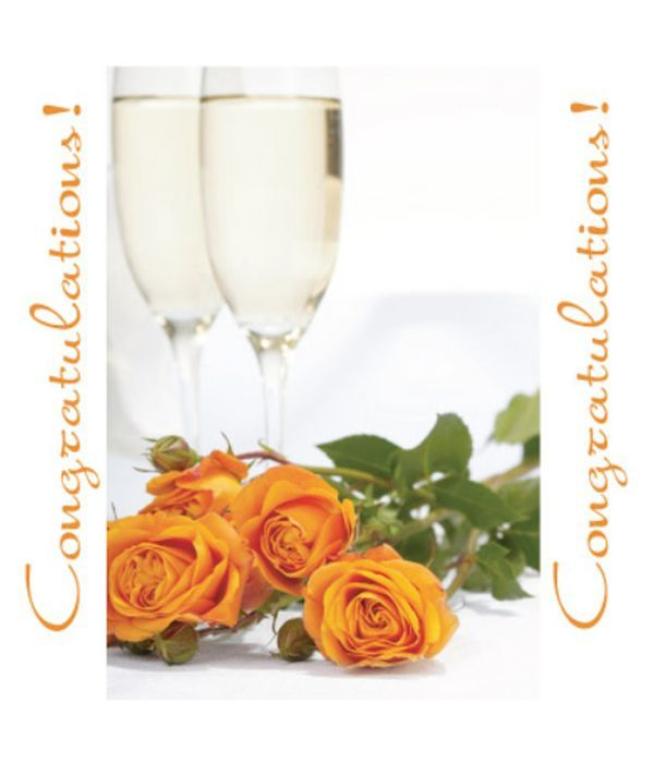 Congratulations wishing card