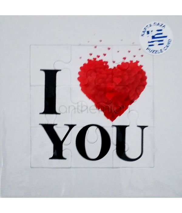 ''I love you'' puzzle