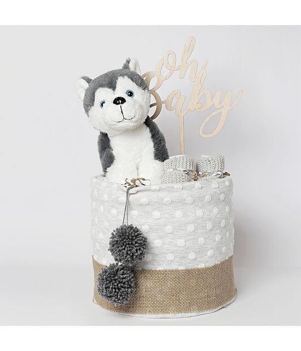 Diaper cake για νεογέννητο αγοράκι ή κοριτσάκι