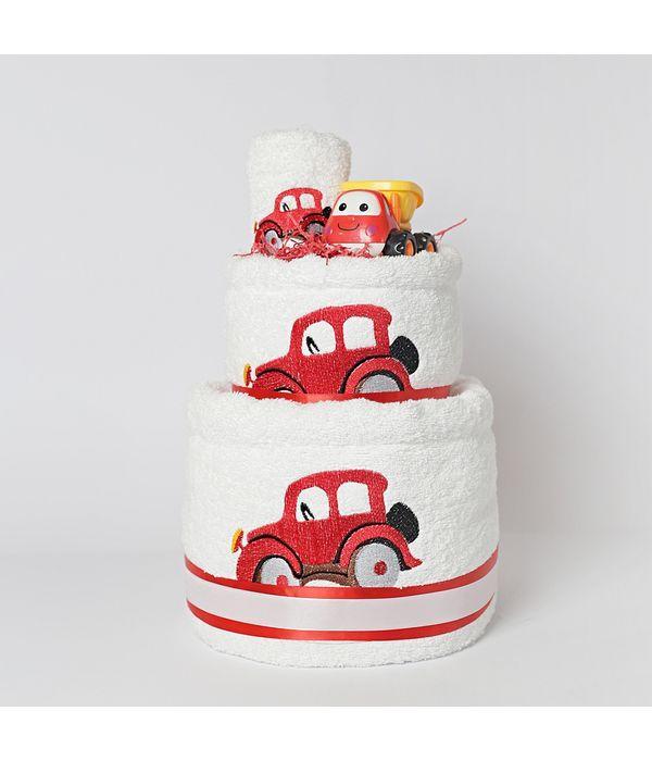 Diaper cake με αυτοκινητάκια