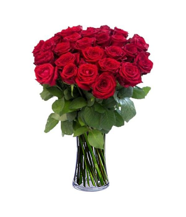 Bouquet with 21 roses