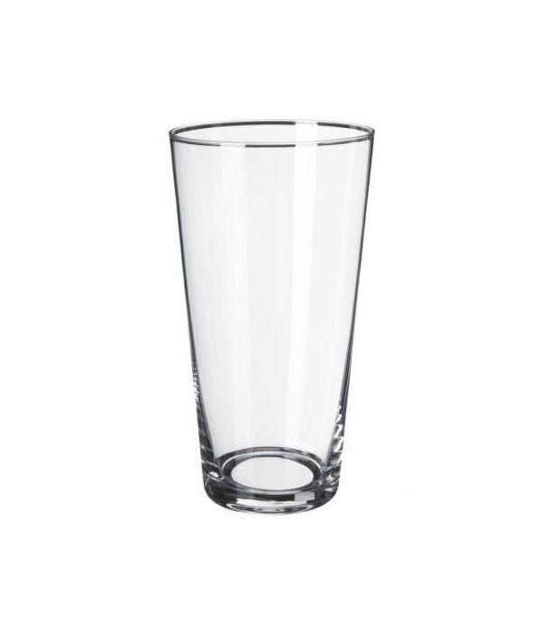 Κωνικό γυάλινο βάζο