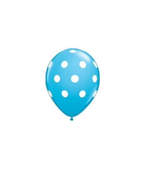 Blue and White Balloon