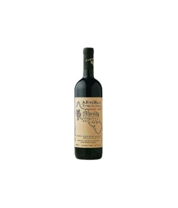 Κρασί Αγιορείτικο Πρωτόπαπα ερυθρό