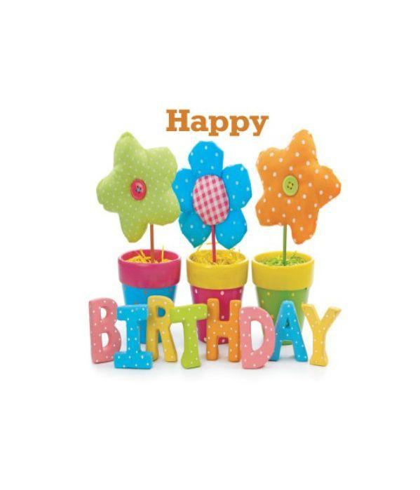 Happy Birthday with wish card