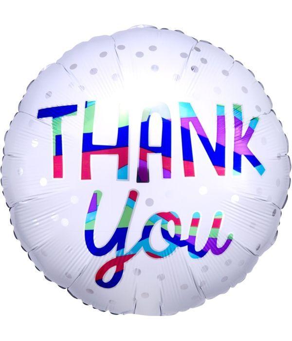 Στρογγυλό ''Thank You'' μπαλόνι 43εκ.