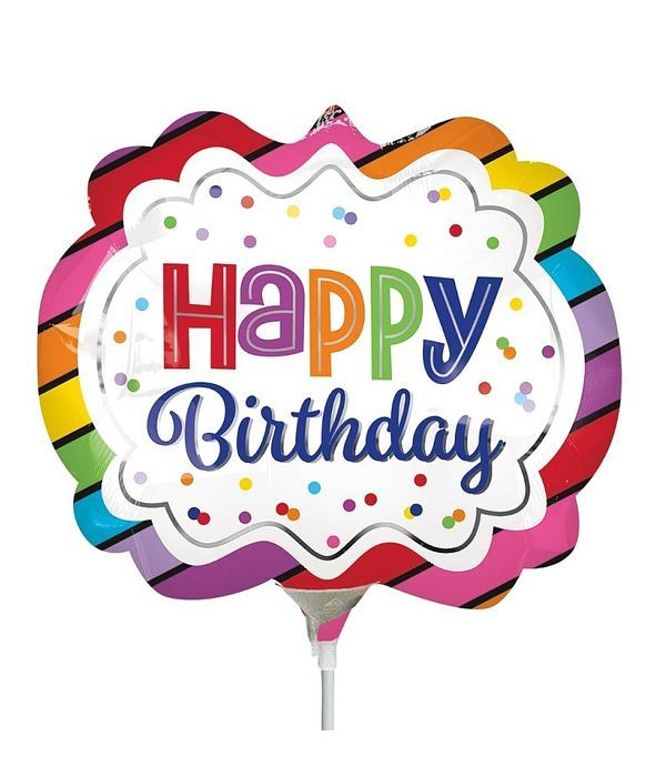 Happy Birthday σε στικ
