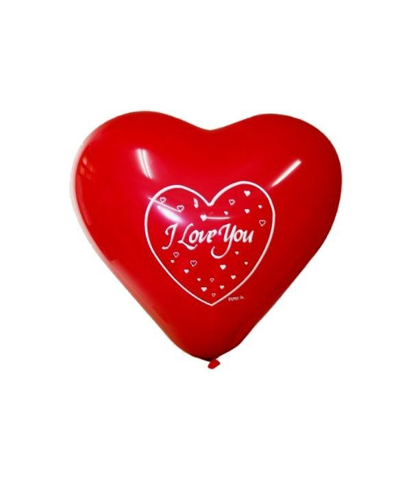 Μπαλόνι σε σχήμα καρδιάς I love you