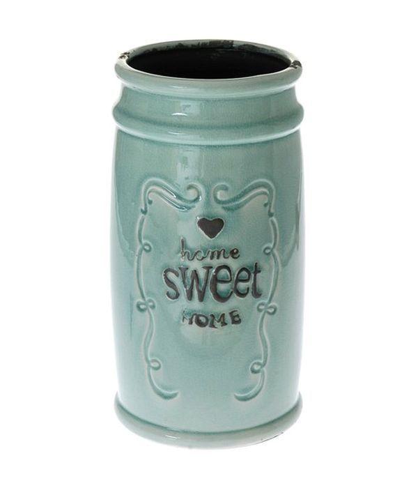 "Ceramic vase ""Home Sweet Home"""