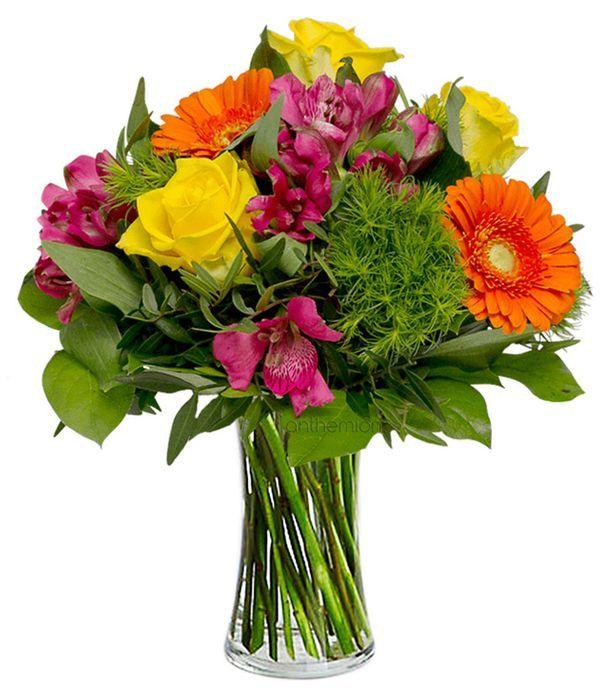 Happy flower greeting