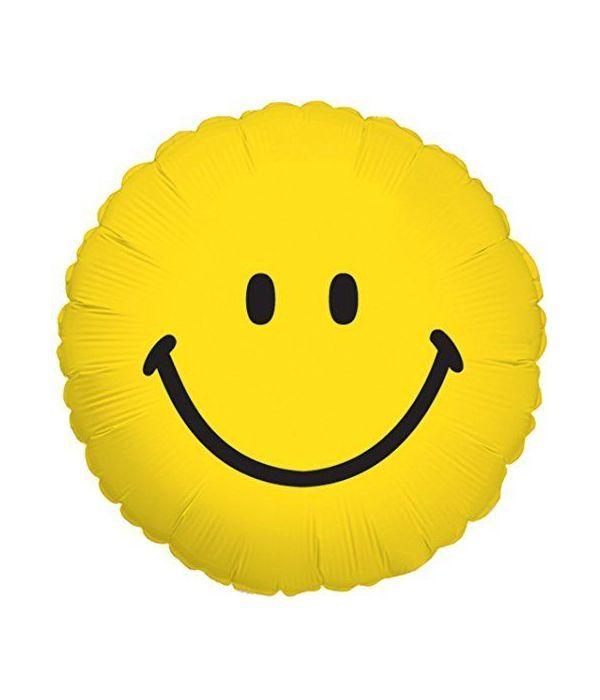 Smile face balloon 45cm