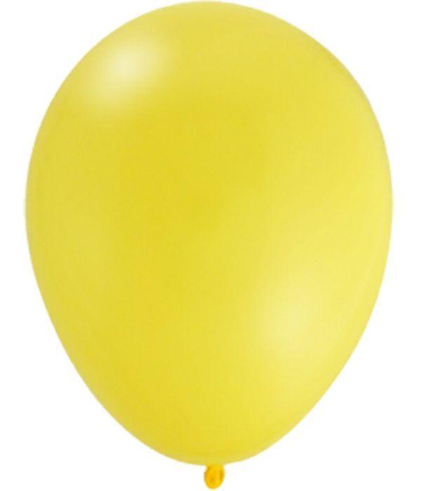Κίτρινο λάτεξ μπαλόνι 30εκ.