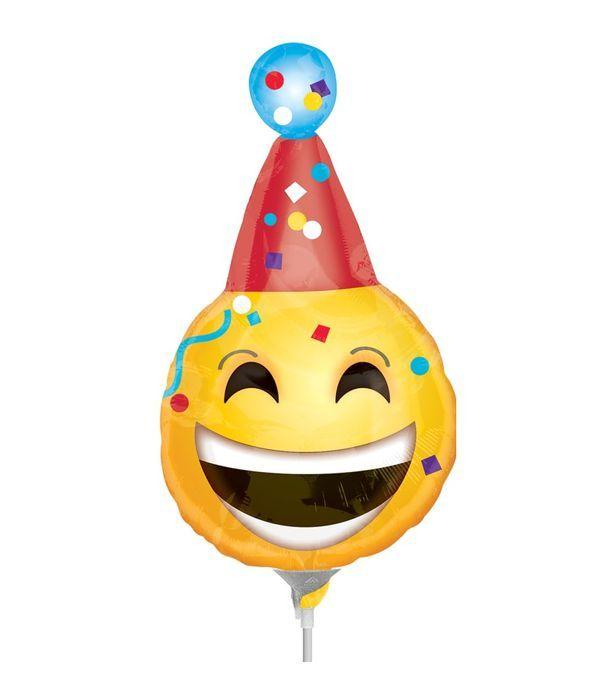 Μπαλόνι χαμογελαστό πρόσωπο 25εκ.