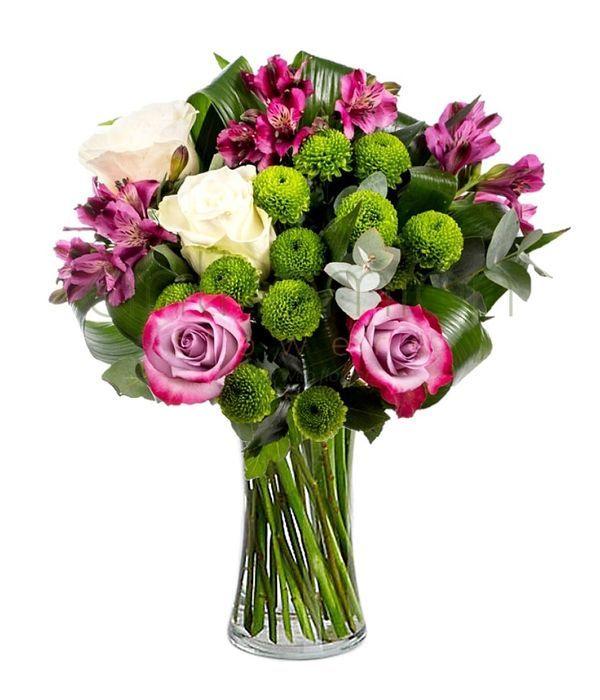 Οφηλία με μωβ λουλούδια