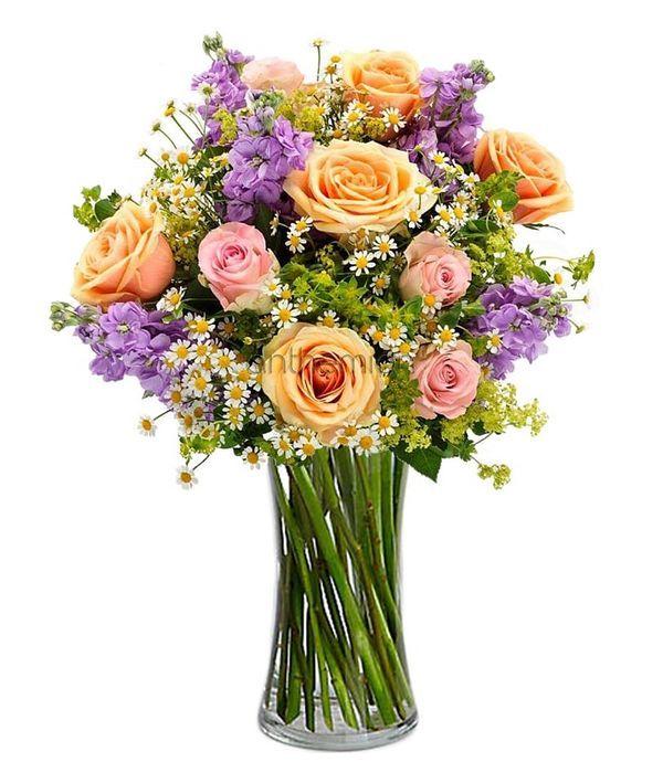Τριαντάφυλλα, λουλούδια άνοιξης