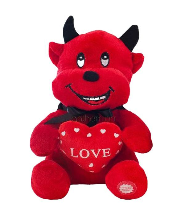 Cute devil soft toy