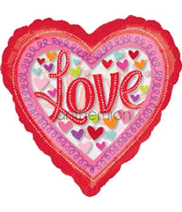 Heart Shaped Balloon ''Love''