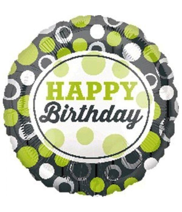Μπαλόνι για ευτυχισμένα γενέθλια 43εκ.
