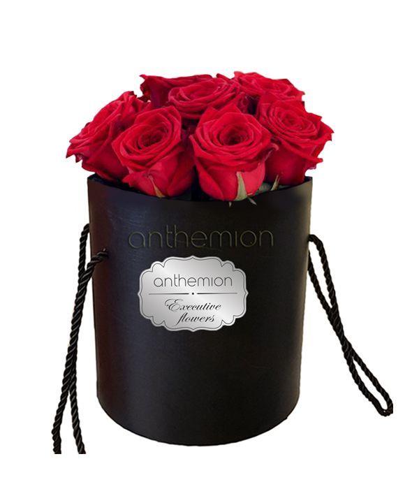 Τριαντάφυλλα της αγάπης σε κουτί