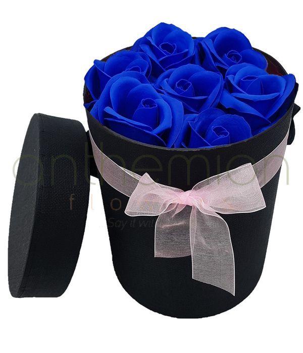 Κουτί με αρωματικά τριαντάφυλλα σαπούνι