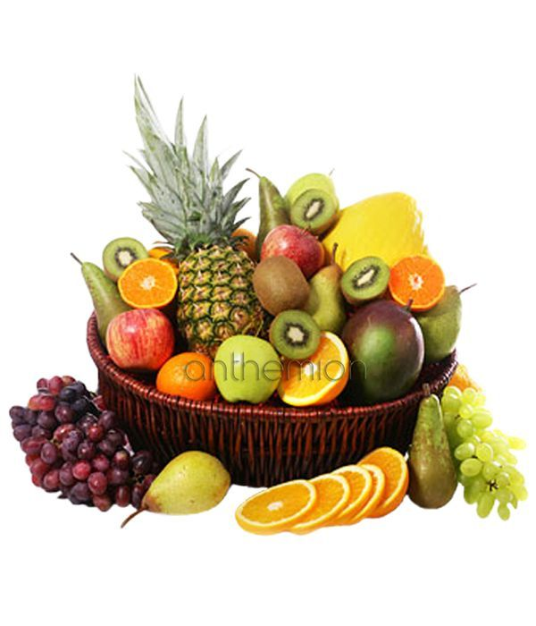 Exotic fruits in a basket