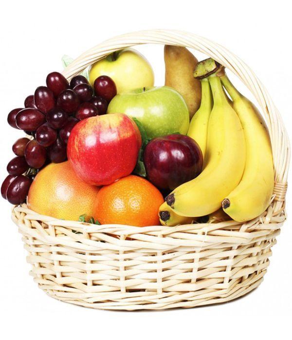 Καλάθι με φρούτα εποχής