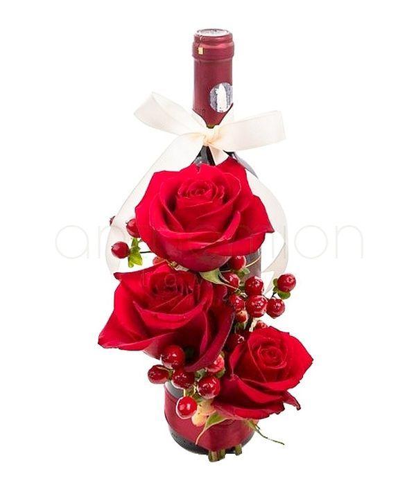 Σύνθεση αγάπης με κρασί