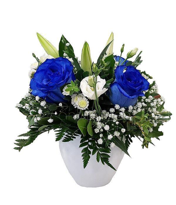Μπλε όνειρο με τριαντάφυλλα
