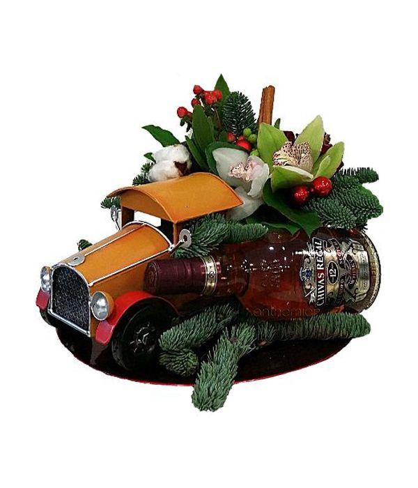 Γιορτινή σύνθεση με Chivas Regal