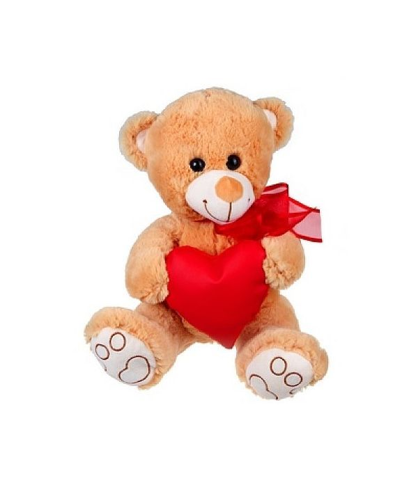 Love teddy bear with heart 30cm