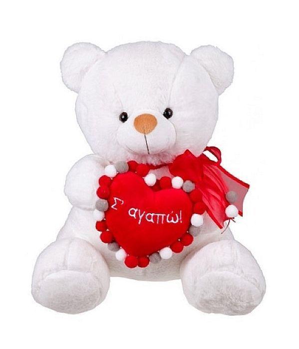 Αρκουδάκι λούτρινο αγάπης 35εκ