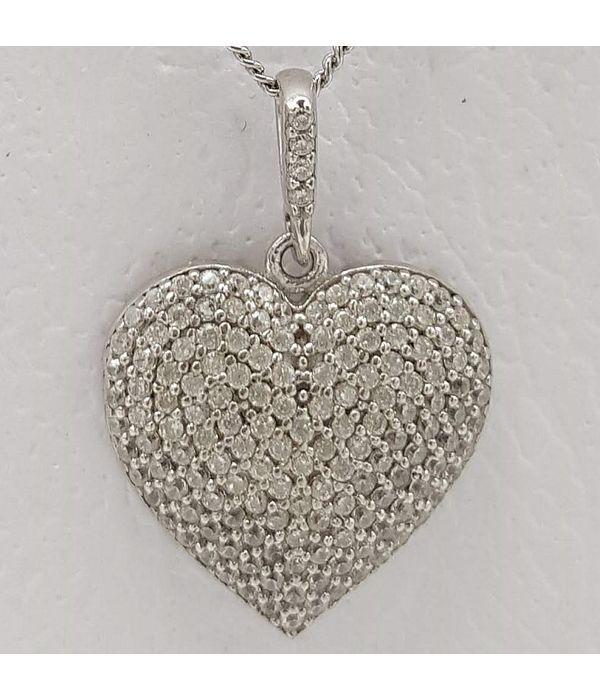 Μενταγιόν καρδιά (μεγάλο μέγεθος)