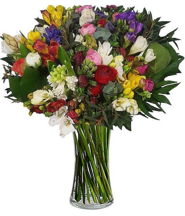 Στείλτε λουλούδια άνοιξης