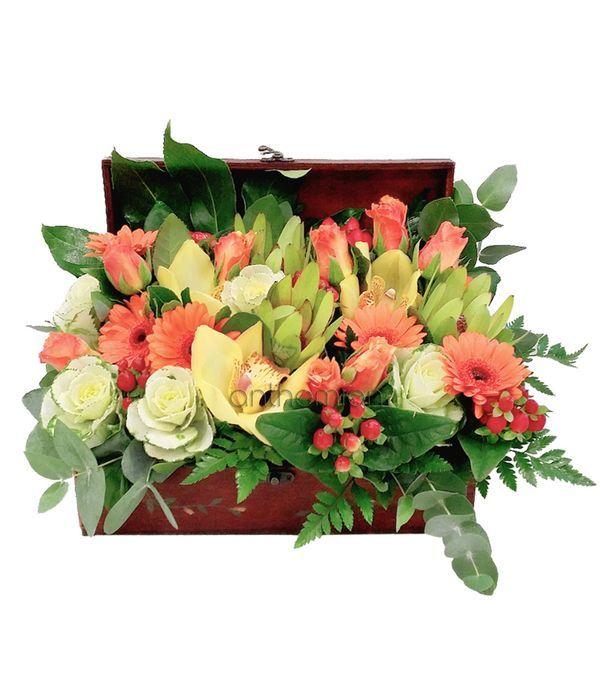 Orange and yellow arrangement