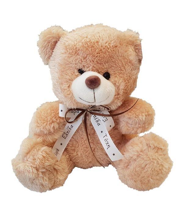 Αρκουδάκι με φιόγκο 20 εκ.