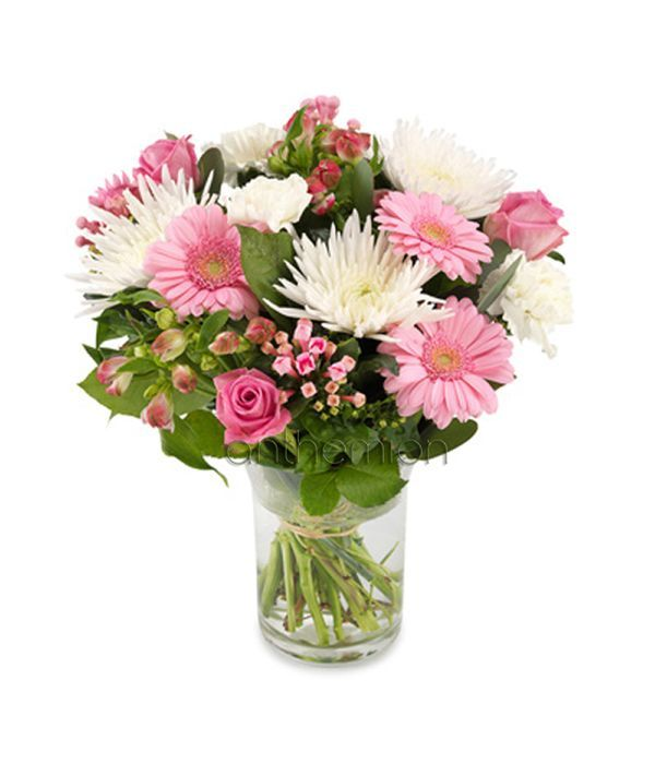 Sweet pink and white bouquet