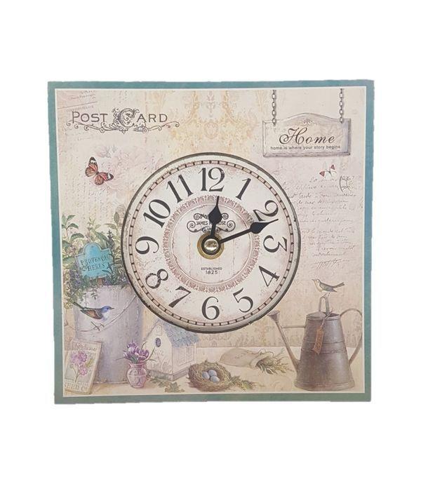 Desk Clock Postcard