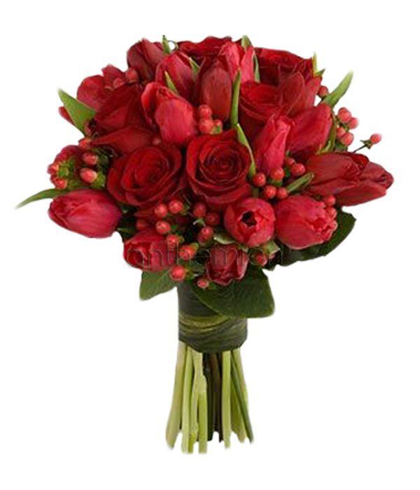 Κόκκινη Ομορφιά σε μπουκέτο