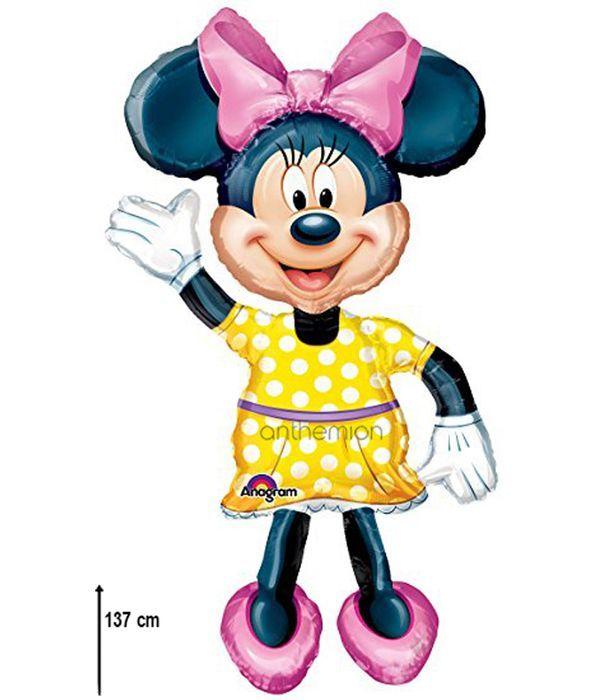 Giant ''Minnie Mouse'' foil balloon