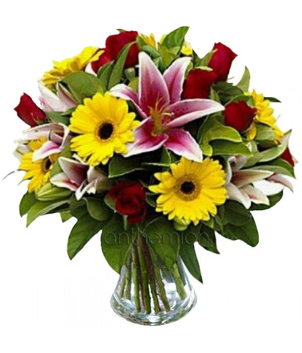 Bright seasonal bouquet