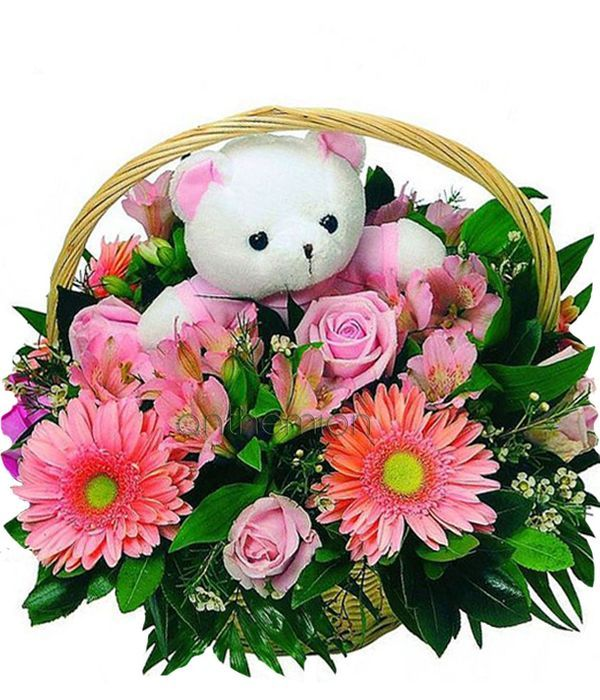 Welcome little princess arrangement