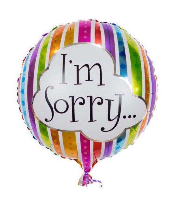 Στρογγυλό μπαλόνι foil 43εκ. ''I'm Sorry''