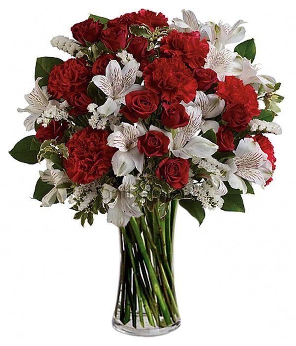 Τριαντάφυλλα και αλστρομέριες της αγάπης