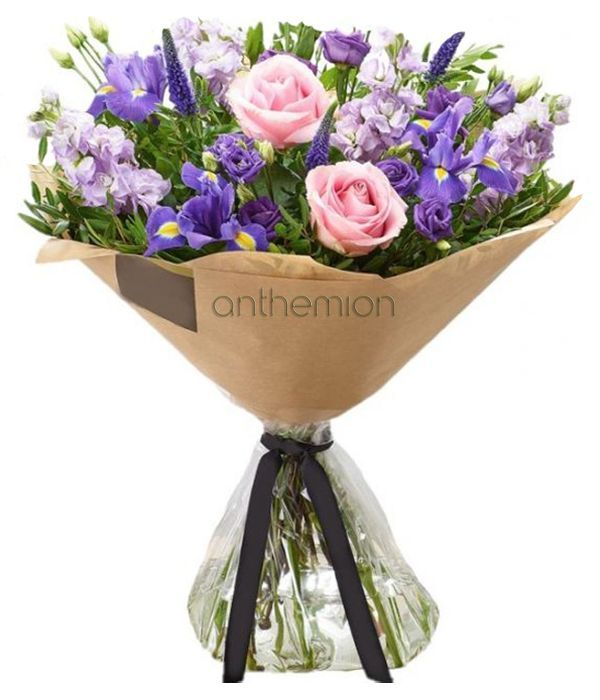 Purple Twilight Hand-tied